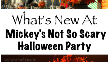 Whats New At Mickeys Not So Scary Halloween Party 2018
