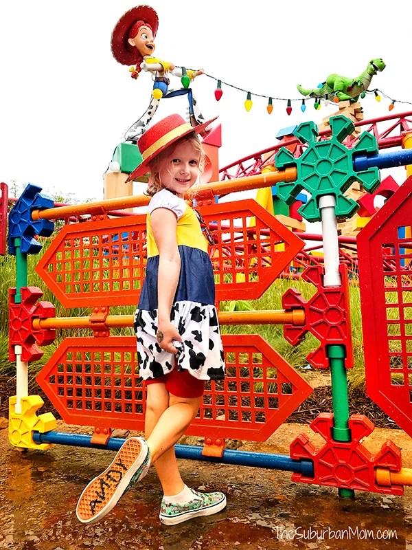 Disney Bounding Jessie Toy Story Land