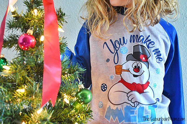 Frosty The Snowman Pajamas