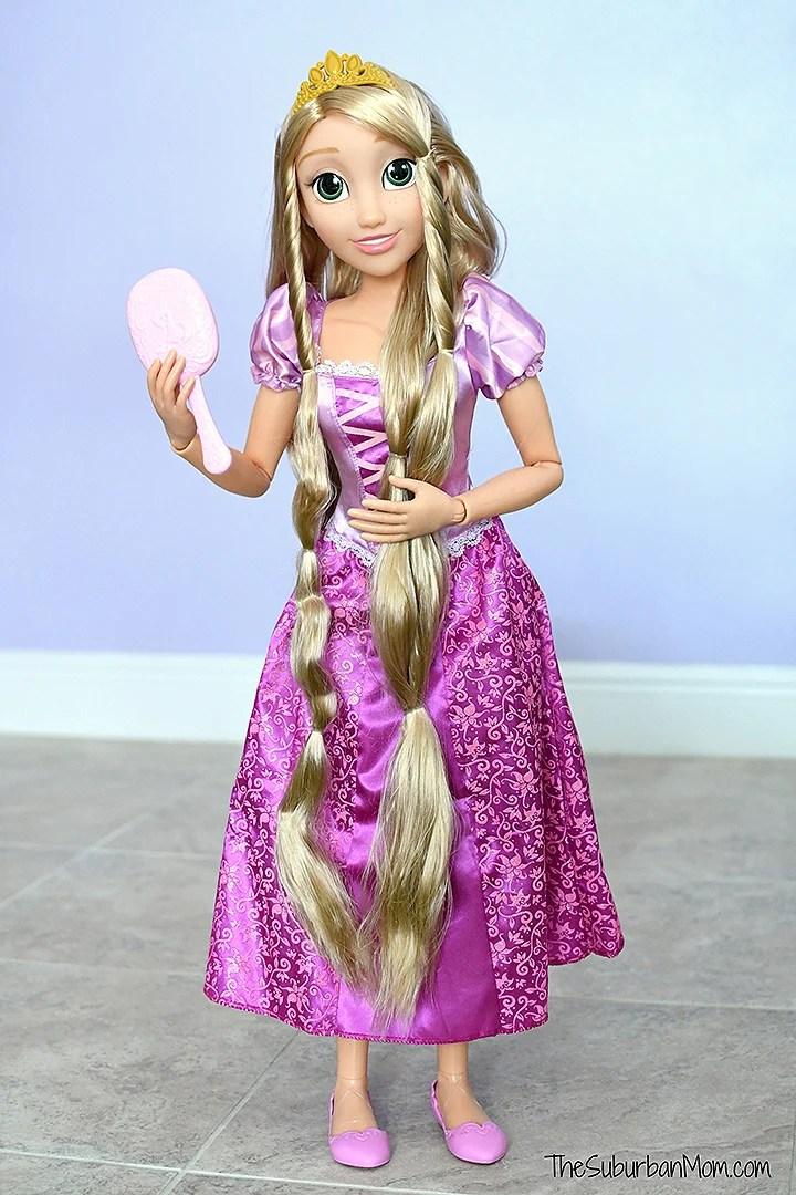 Life-Size Rapunzel Doll