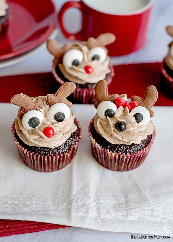 Rudolph Clarice Cupcakes