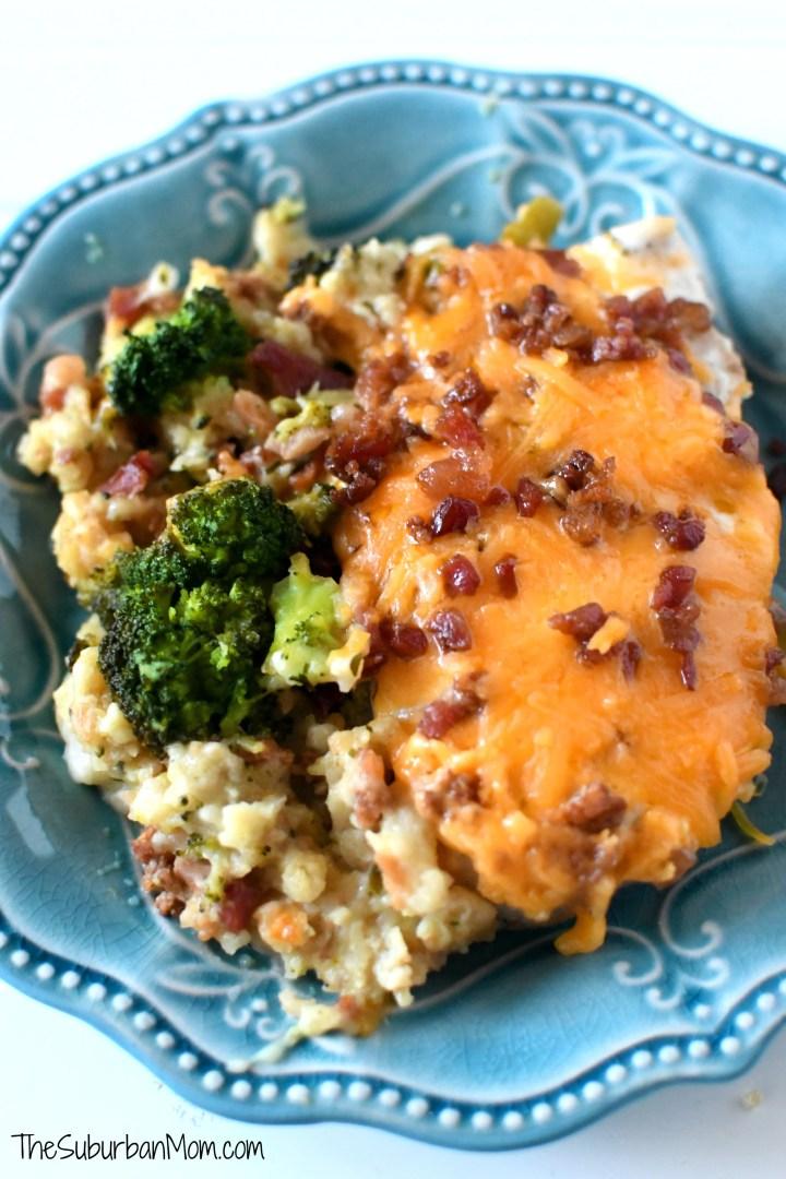 Cheesy Ranch Chicken and Broccoli