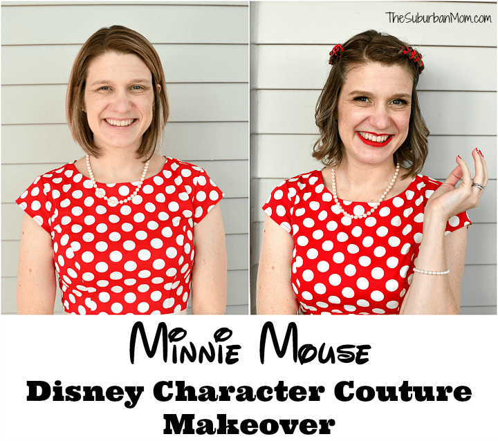 Minnie Mouse Disney Character Couture Makeover