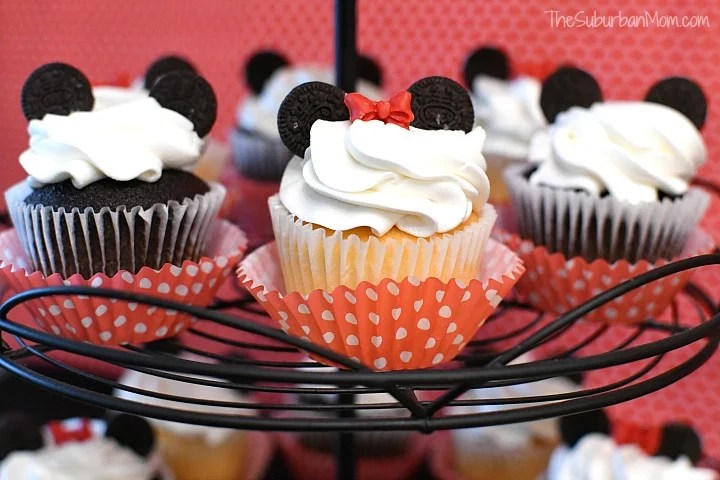 Mickey Minnie Mouse Cupcakes