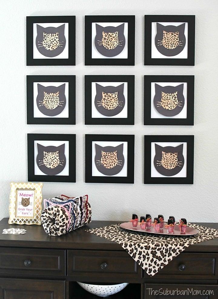 Cheetah Cat Party