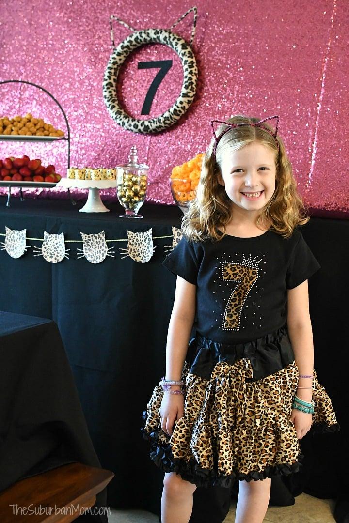Cheetah Print Birthday Outfit