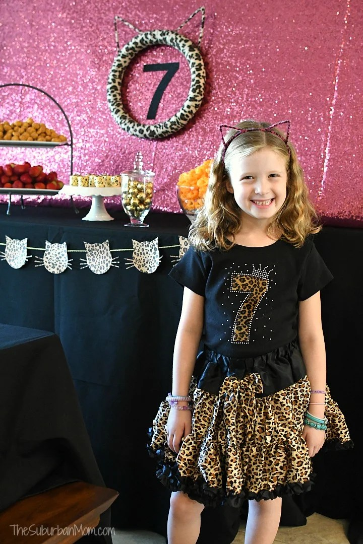 Cheetah Print Birthday Outfit