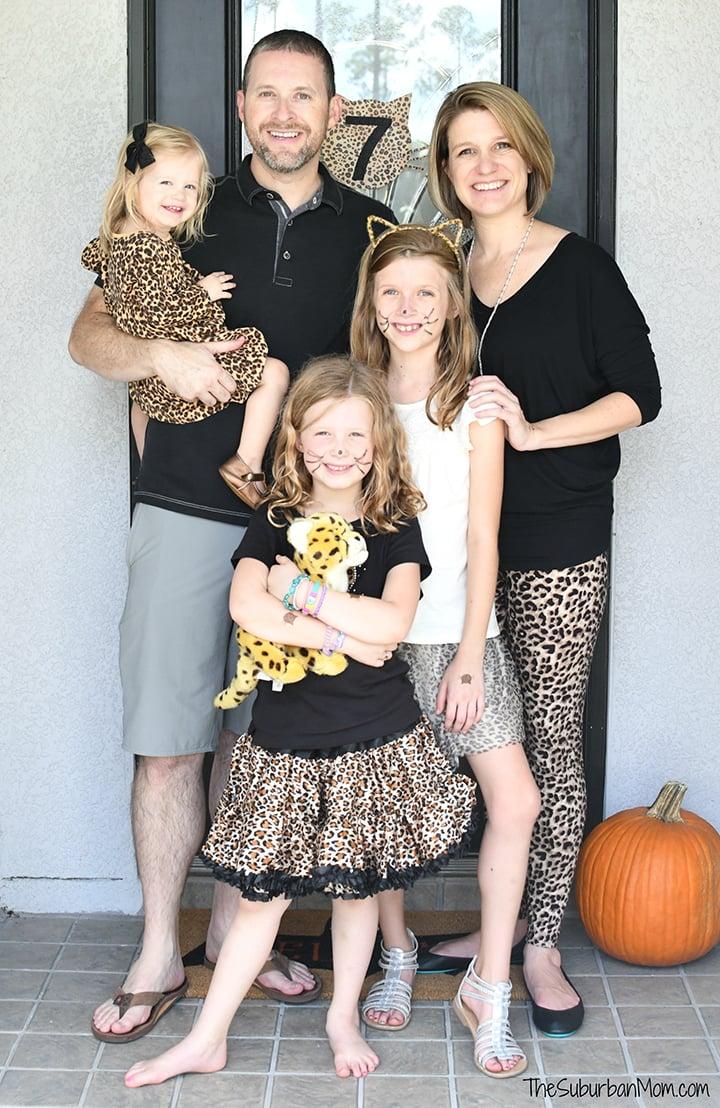 Family Cheetah Print Fashion