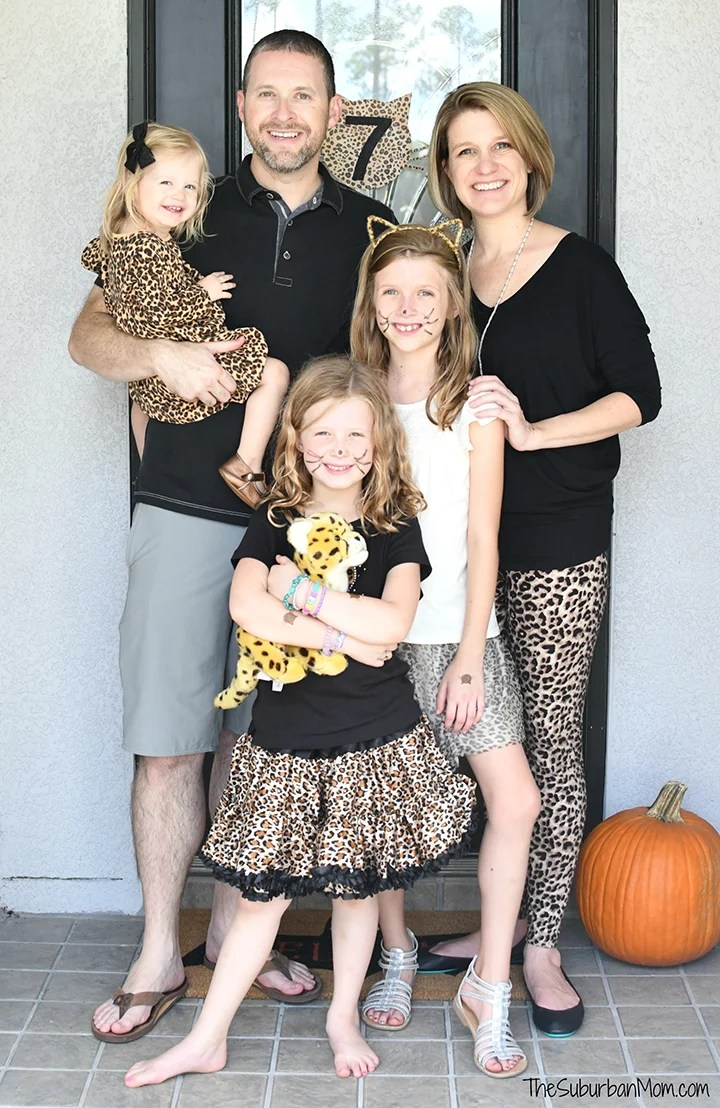 Family Cheetah Print Fashion