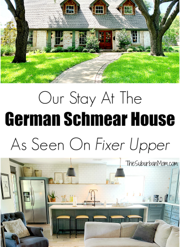 German Schmear House Fixer Upper Airbnb