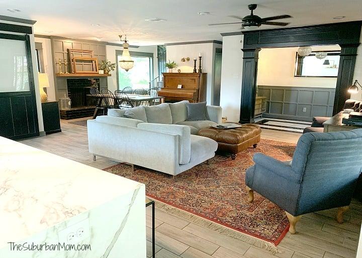 German Schmear Living Room
