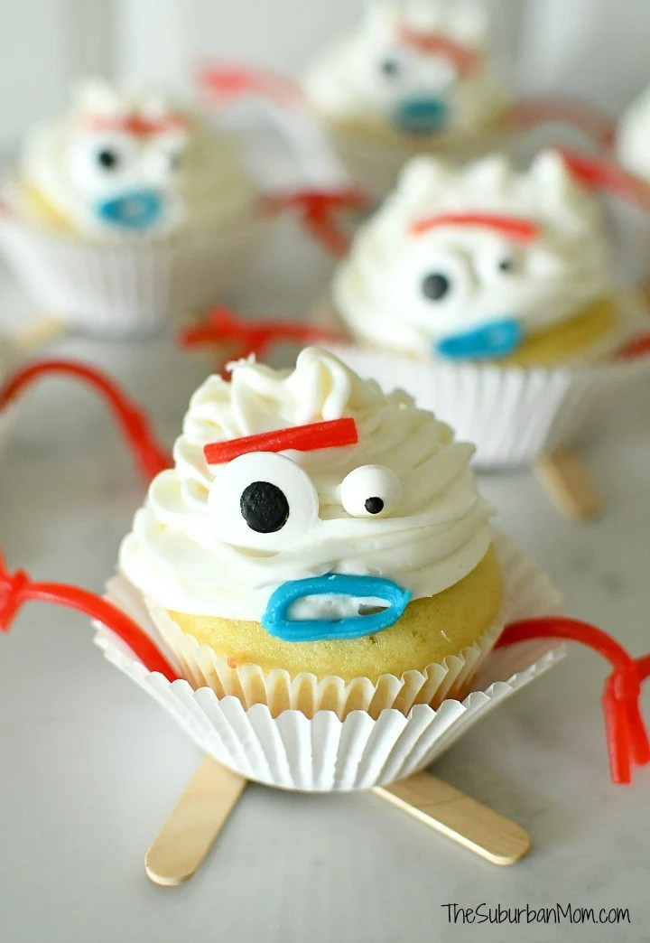 Toy Story 4 Forky Cupcakes