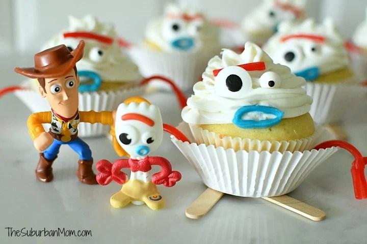 Toy Story Forky Cupcake Idea