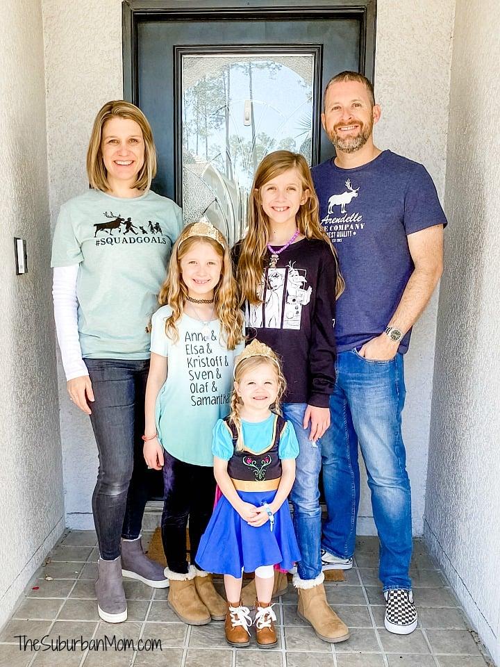 Frozen Family Shirts