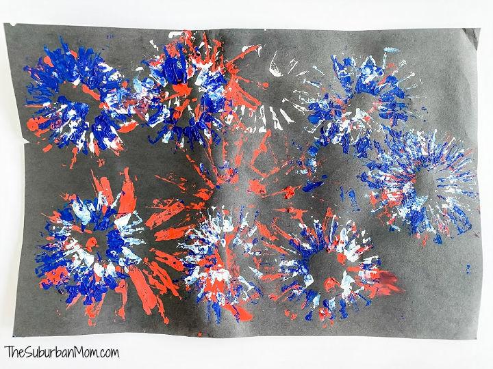 Paper Tube Fireworks