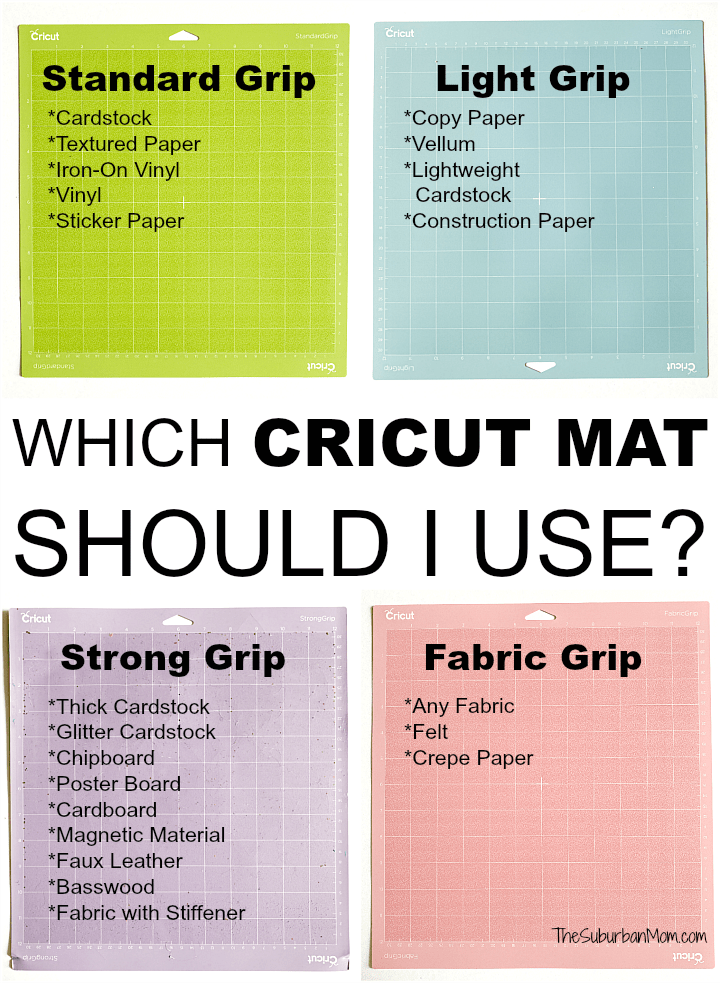 Which Cricut Mat Should I Use
