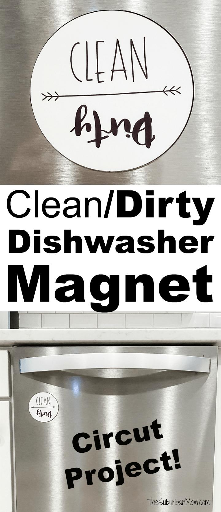 DIY Clean Dirty Dishwasher Magnet