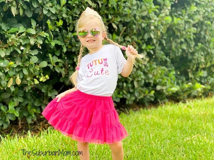DIY Ballerina Shirt