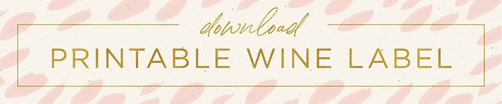 Download Free Printable Birthday Wine Labels