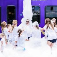Best Party Idea - Bubble Truck Foam Party