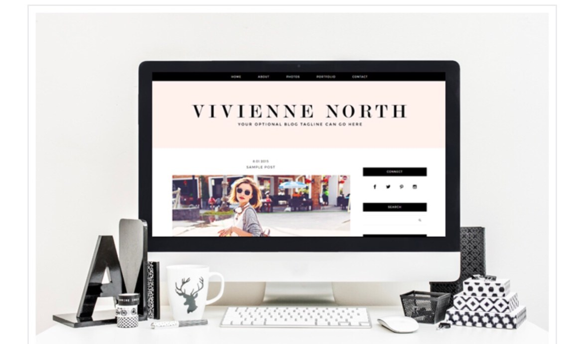 Wordpress themes for beauty and lifestyle bloggers