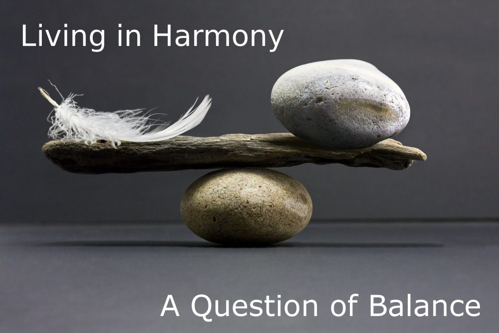 Living in Harmony: A Question of Balance