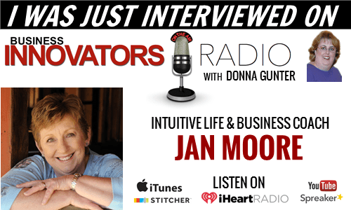 Jan Moore Interviewed on Business Innovator's Radio