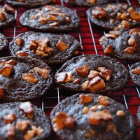 Million Dollar Caramel Cookies aka Chocolate Rolo and Toffee Cookies
