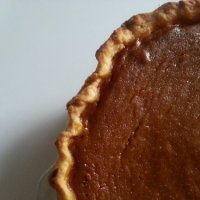 Deep Dish Pumpkin Pie using America's Test Kitchen's Fool Proof Pie Dough