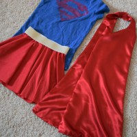 DIY Supergirl Costume