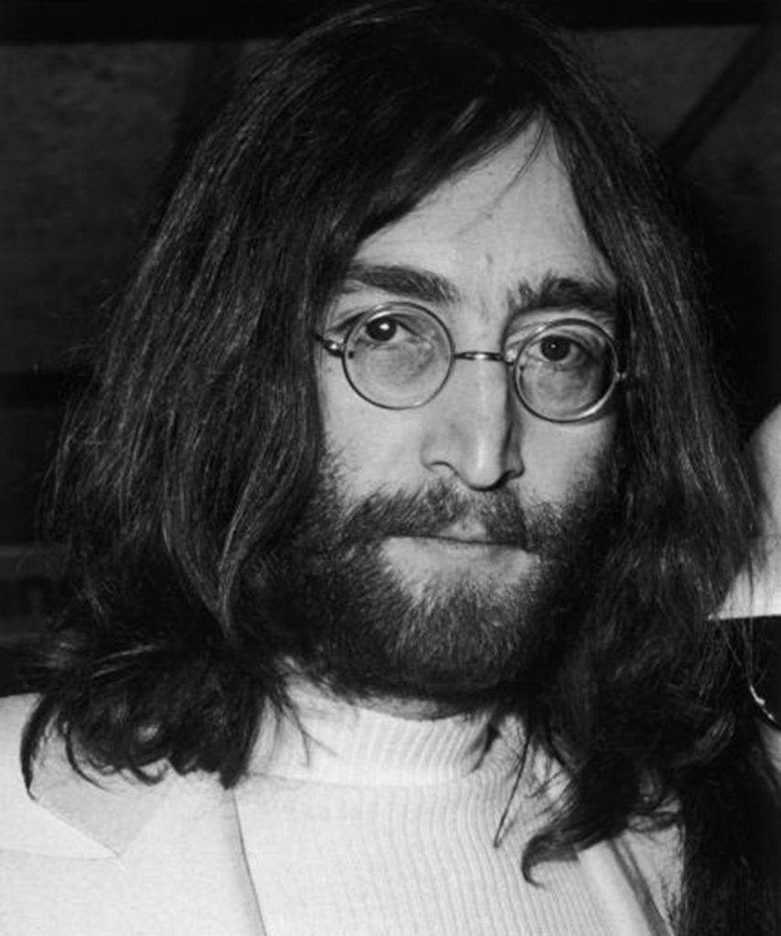 Singer, songwriter and guitarist John Lennon
