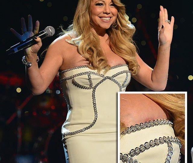 Mariah Carey Nipple Slip At So So Def Th Birthday Concert