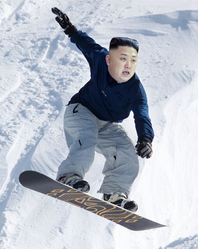 Image result for Kim Jong-Un in boot sport