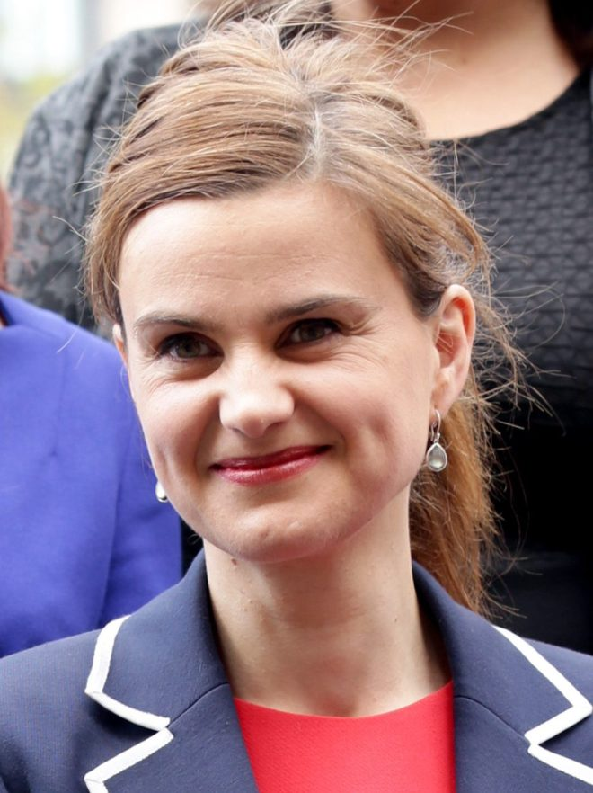 Jo Cox died from her injuries after being attacked in the street in her constituency