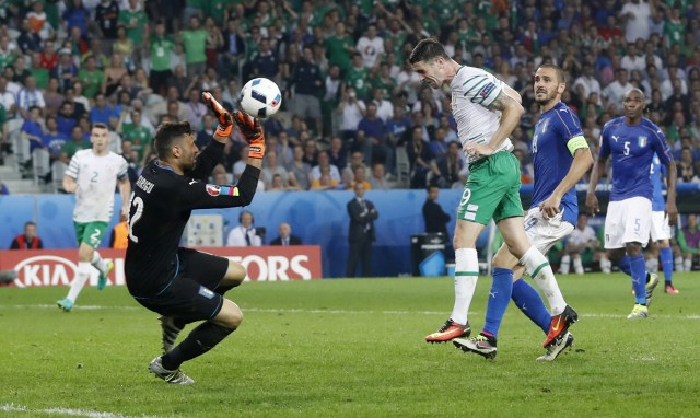 Image result for robbie brady italy header