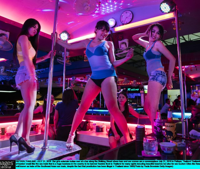 Inside Pattaya The City In Thailand With The Worlds Largest Red Light District And Where Men Can Choose From  Prostitutes