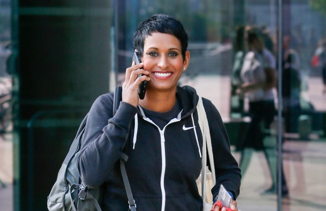 Naga Munchetty is a BBC journalist and broadcaster