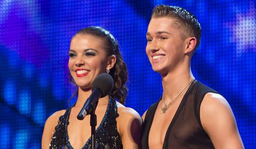 Chloe and fellow new dancer AJ Pritchard made it to the semi-finals on Britain's Got talent