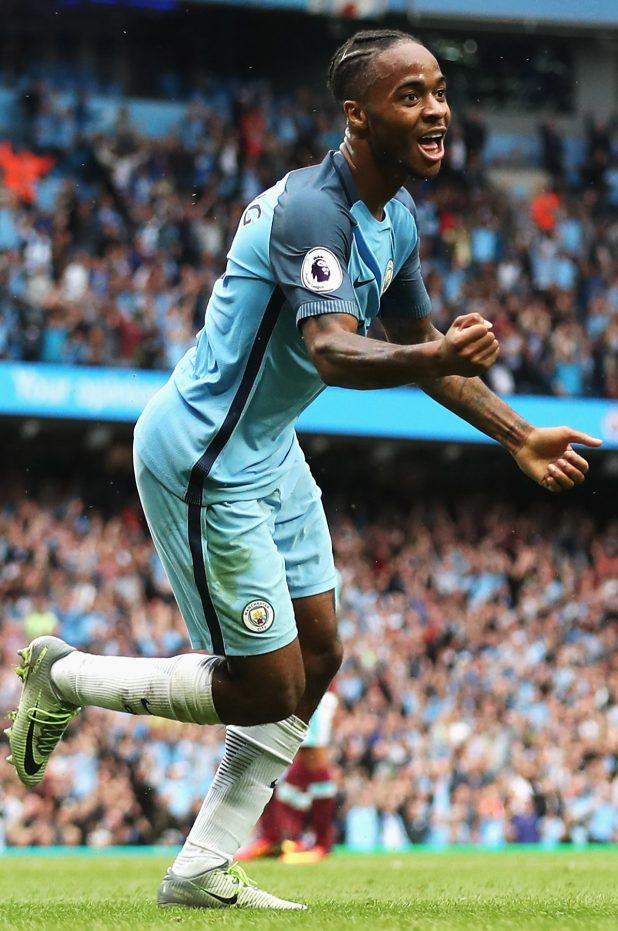 Sterling has turned his form upside down this season under Pep Guardiola
