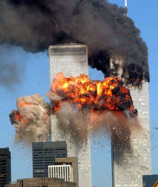 Pictures of the collapse of the Twin Towers are some of the most iconic in history