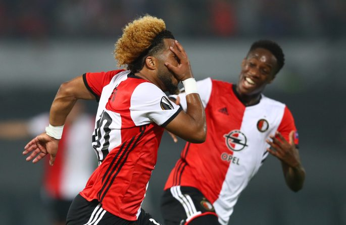 A goal from Tonny Vilhena helped Feyenoord beat United in the Europa League on Thursday