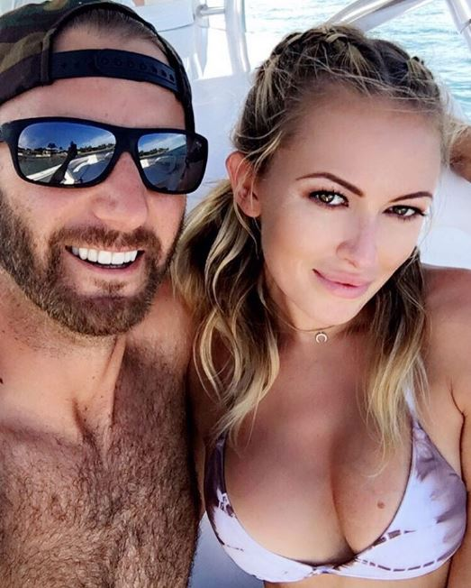 Dustin Johnson and Paulina Gretzky are golf's power couple of the moment