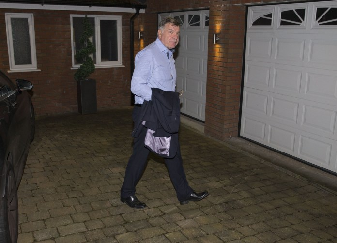 The Ex England manager heads for home