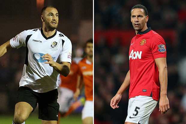 FA Cup: Rio Ferdinand's body double aims to one-up Old Trafford ...