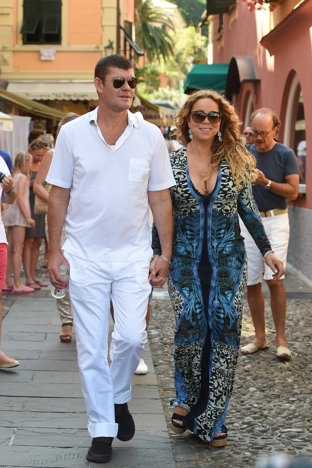 James and Mariah got engaged in January after less than a year of dating