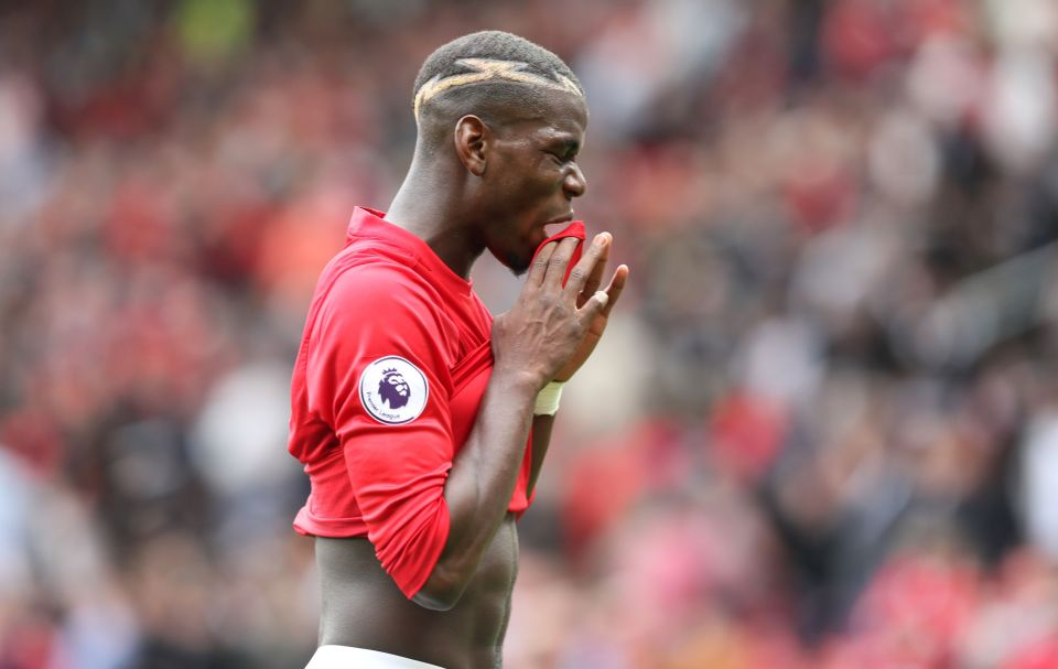 Paul Pogba's form this season has been thoroughly underwhelming