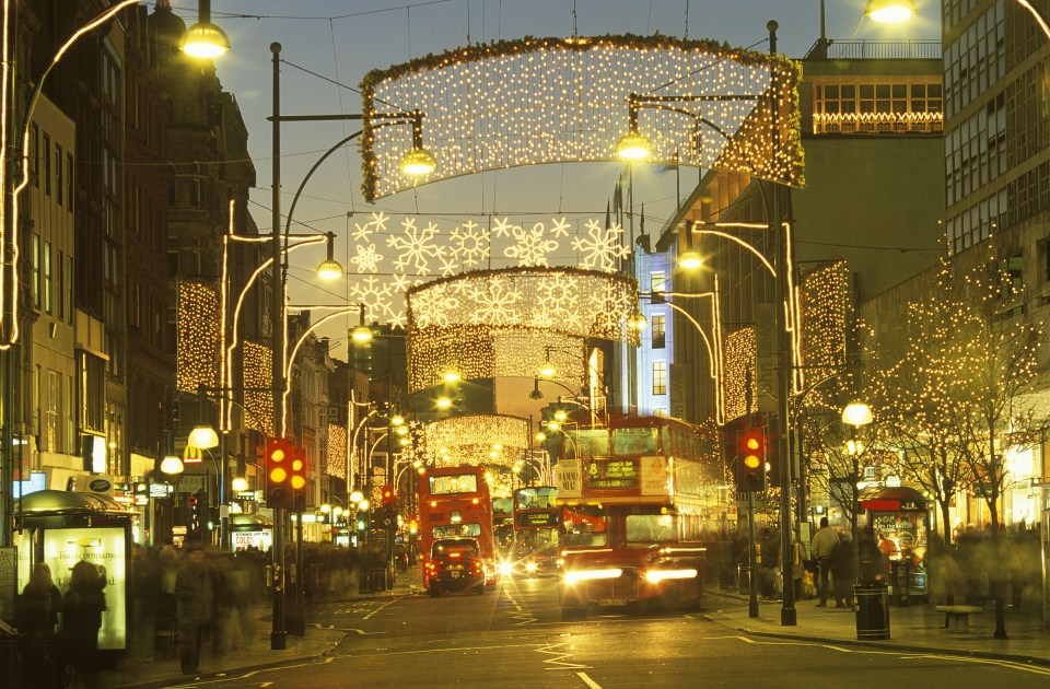 Oxford Street Christmas lights will be turned on by Rita Ora on Tuesday November 7
