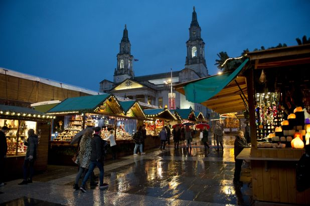 Leeds also hosts a German market every Christmas which will open the day after the lights are being switched on
