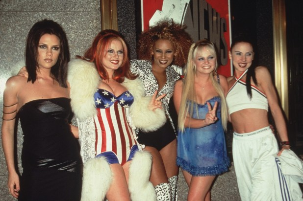 As a complete group - this time Mel C and Victoria Beckham won't be joining in