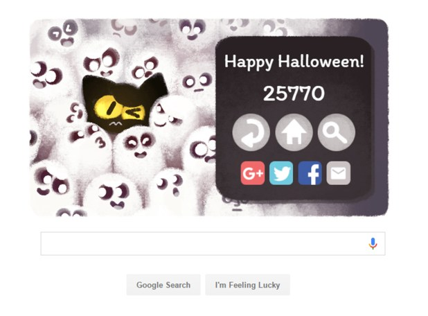 halloween 2017 celebrated with google doodle ghost game
